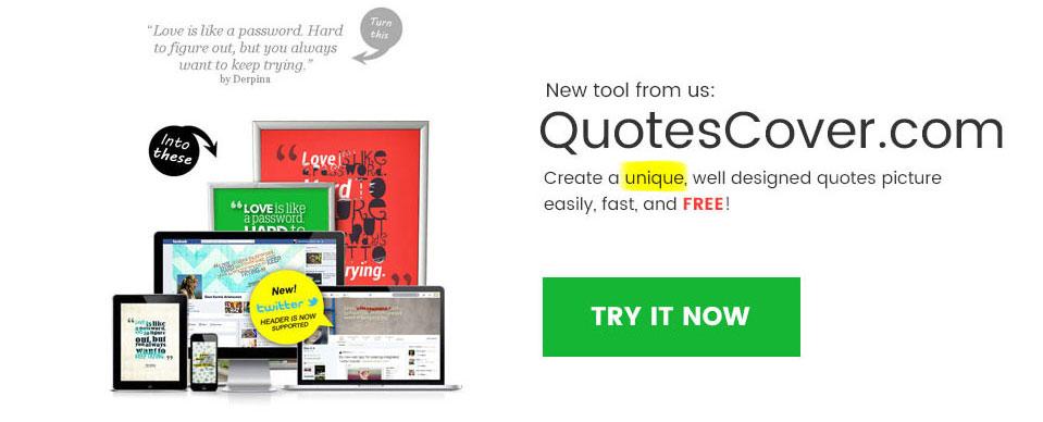 Quotes Maker - Quotescover.com